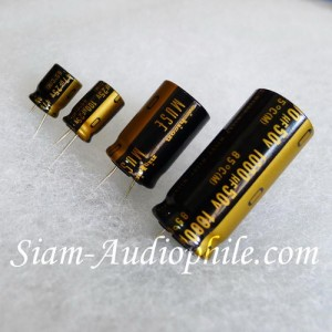 Nichicon MUSE KZ Audio Grade Electrolytic Capacitors