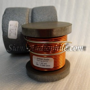 Wire coil with non-ferrite core + disc - Low DCR